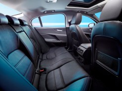 Jaguar XE rear interior seating