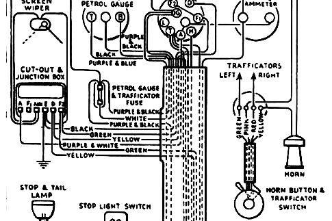 Classic Vehicle Wiring Standard, Vehicle Wiring Diagrams Uk