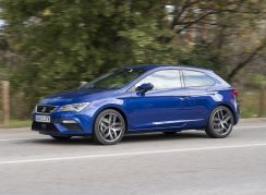 SEAT Leon SC three door coupé model.