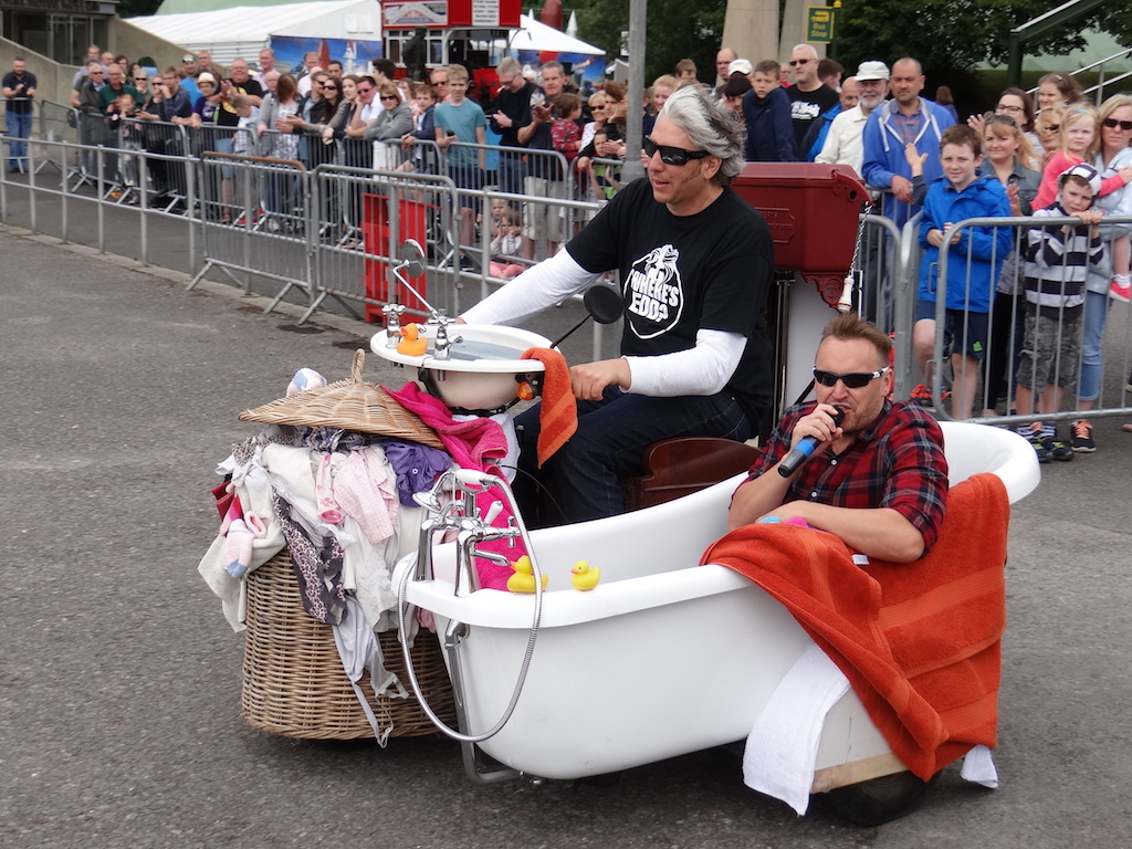 reclining two seat sofa sectional sale edd china and the wacky record breakers – at beaulieu ...