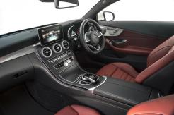 Mercedes-Benz C Class Coupe inside front