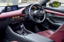 Mazda3 Hatchback front interior