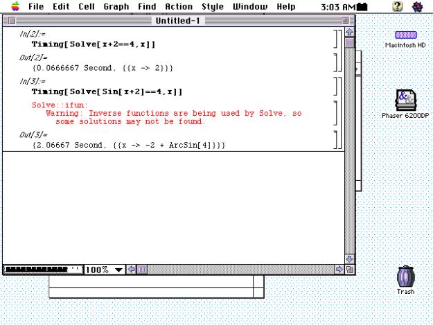 mathematica 2.2, 1993