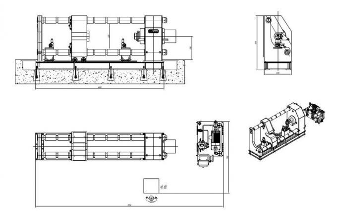 450 Ton Single Head Cylinder Wheel Press Machine