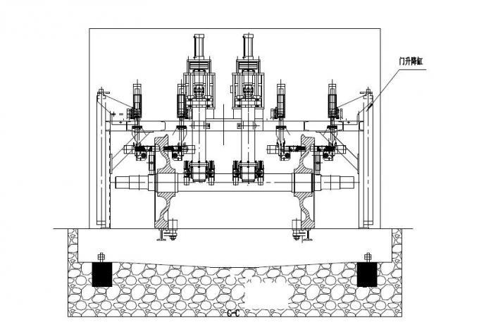 ISO9001 Railway Workshop Equipment , Railway Wheelset