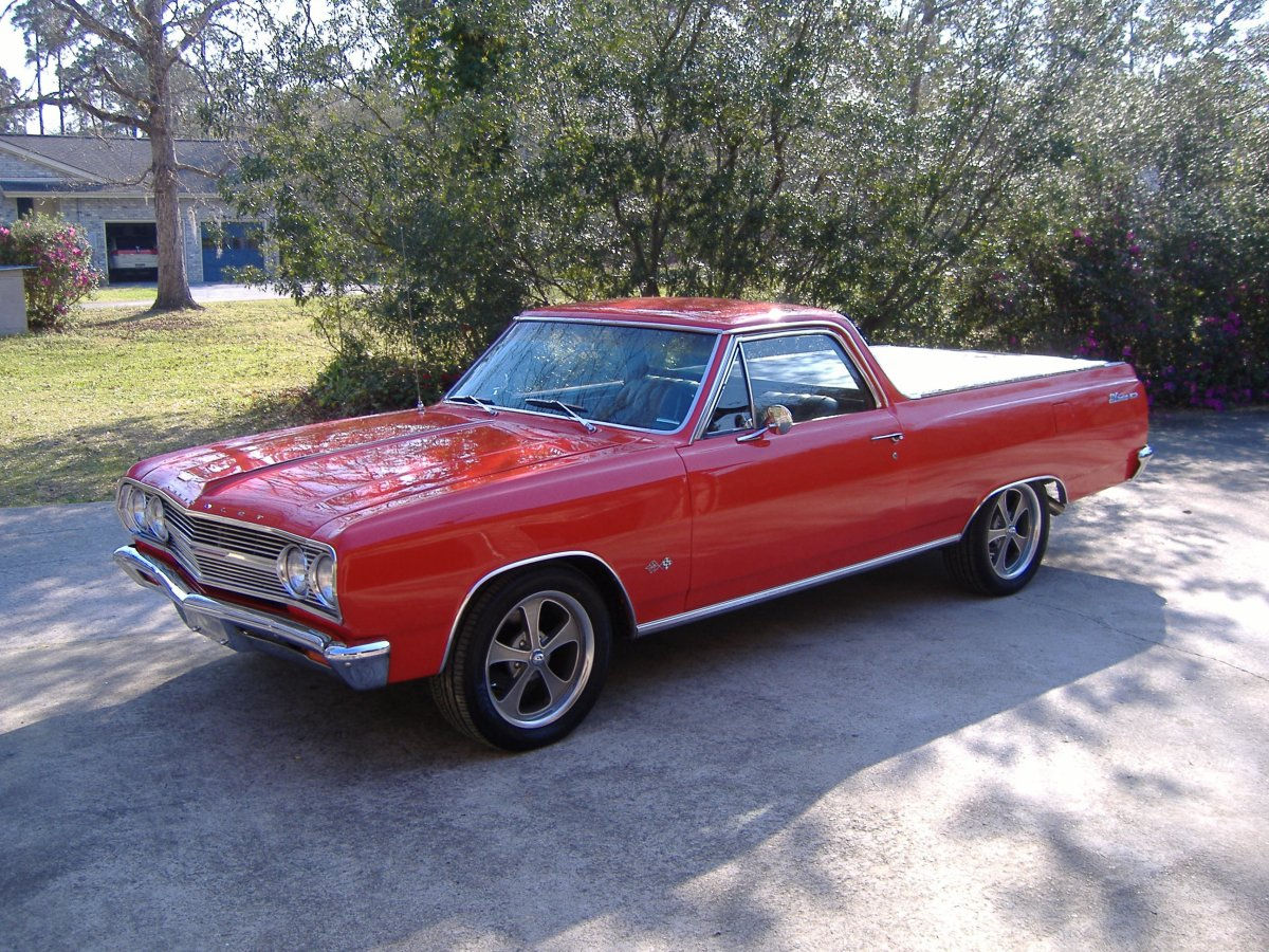 hight resolution of 1965 chevy el camino with 17x7 ridler gray 645 wheels