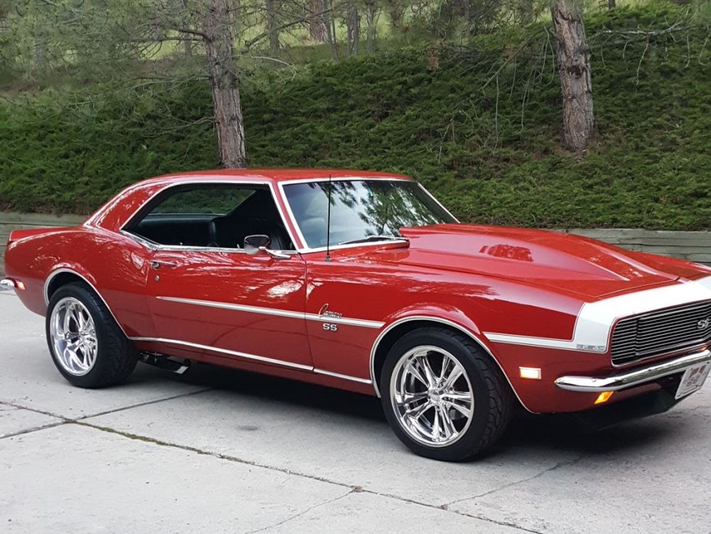 medium resolution of 1968 chevy camaro with foose forged knuckle wheels