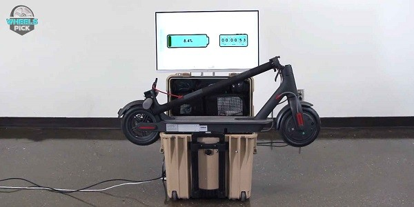 How long does it take to charge an electric scooter