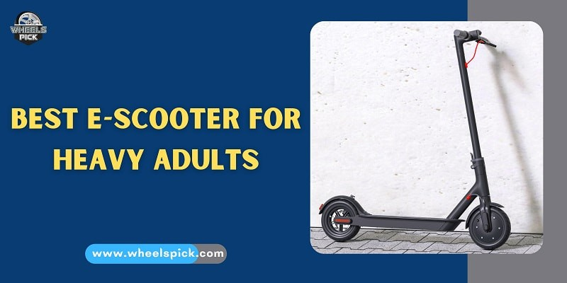 11Best E Scooter for Heavy Adults