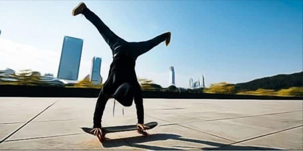 How to Lose Weight with Just a Skateboard