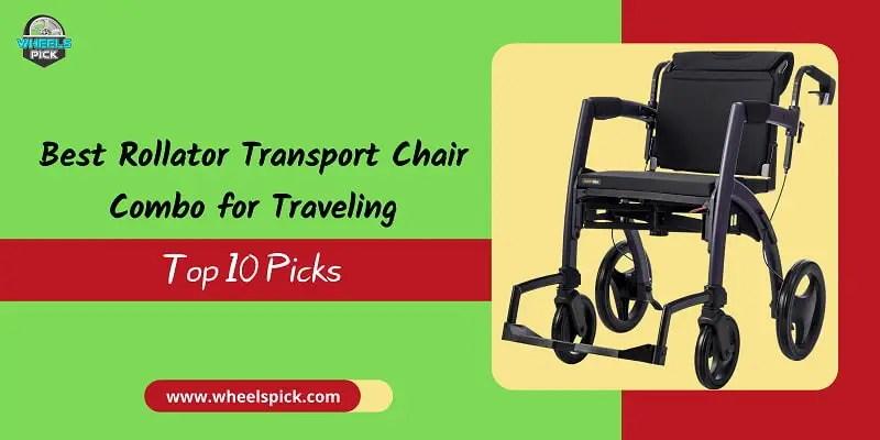 Rollator-Transport-Chair