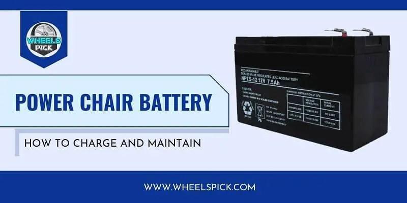 11Power Chair Battery