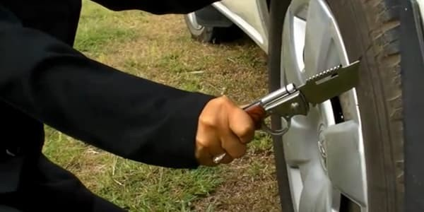 How Much Force Does It Take to Slash a Tire
