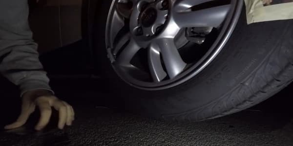 Slash A Tire Without Making Noise