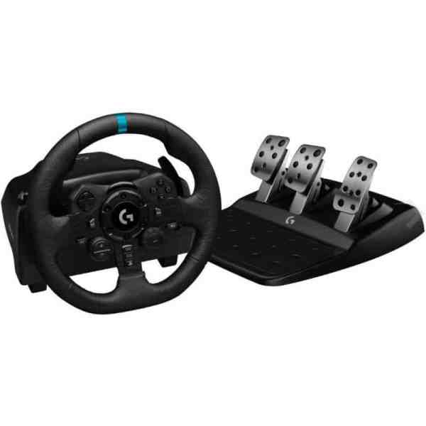 Logitech G923 Racing wheel voor Playstation 4 en 5 en PC windows