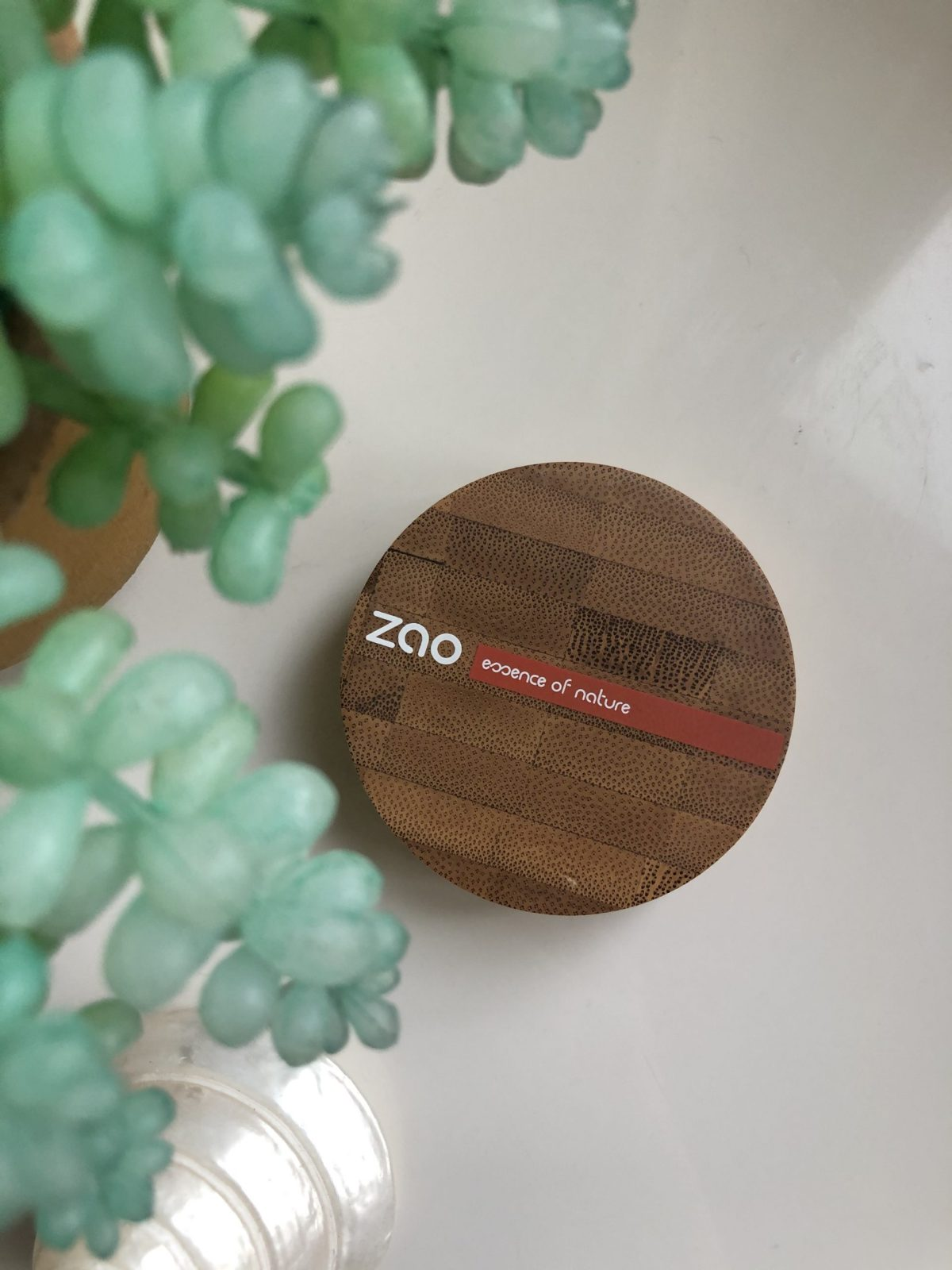 Zero waste (organic) make-up powder
