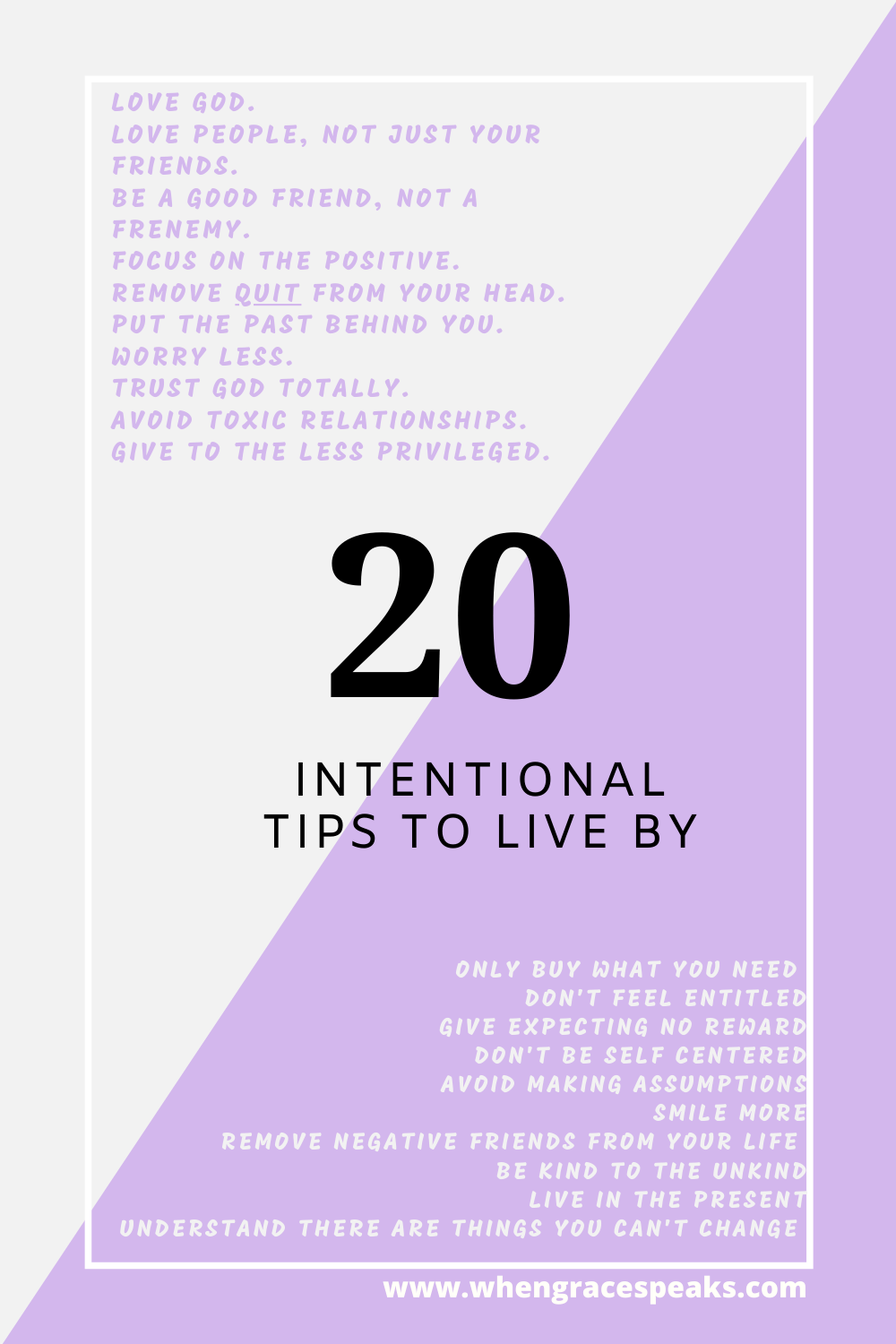 Tips on how to live intentionally everyday