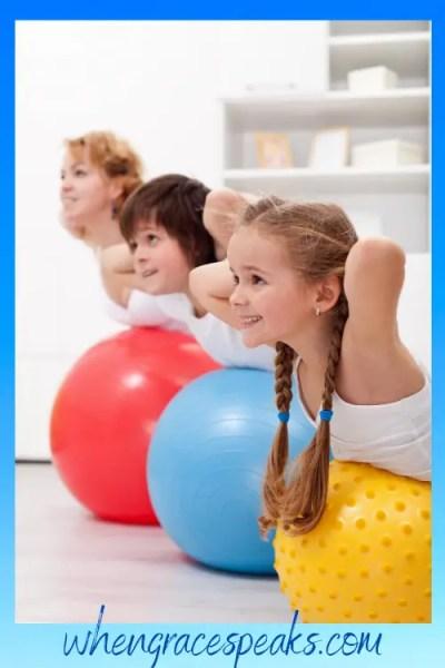 Sensory exercise - homeschool supplies