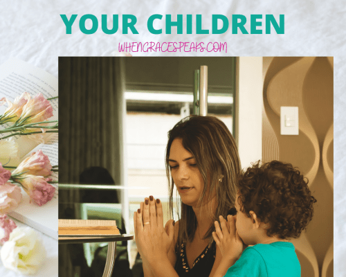 Praying for and with your children