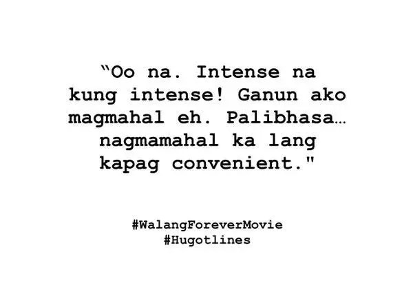 English Hugot Love Lines About