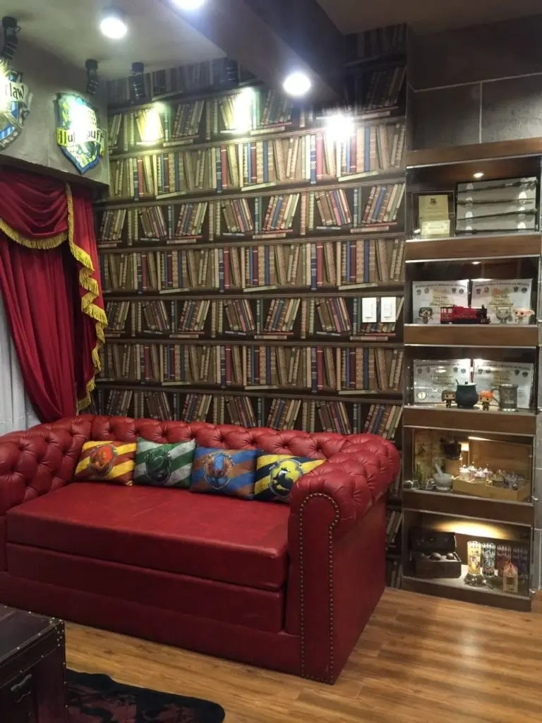 sofa bed available in philippines sleeper memory foam look: harry potter and star wars airbnb units now exist ...