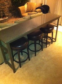 bar table behind theater seats - AVS Forum | Home Theater ...