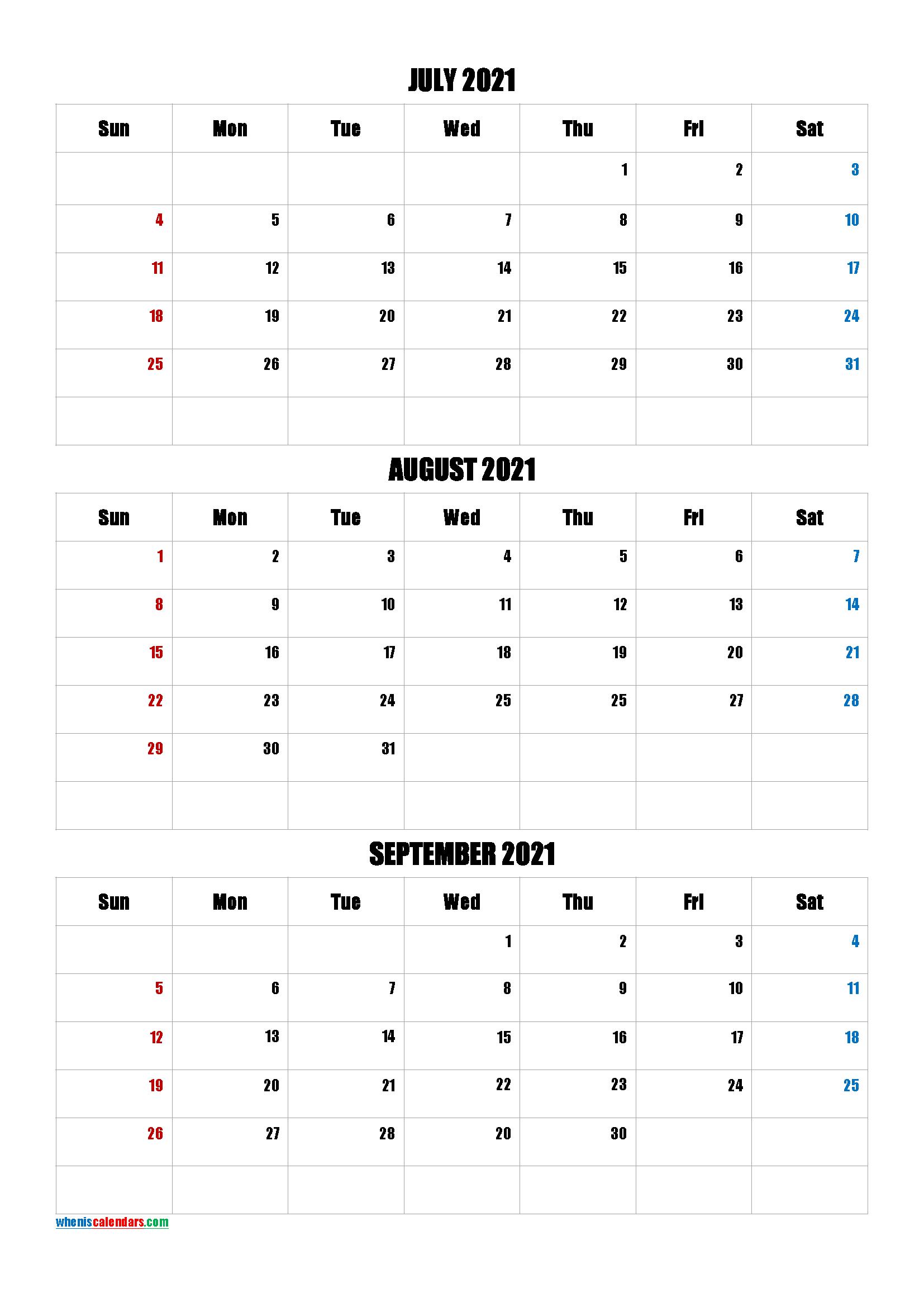 Free April May June 2021 Calendar [Q1-Q2-Q3-Q4]
