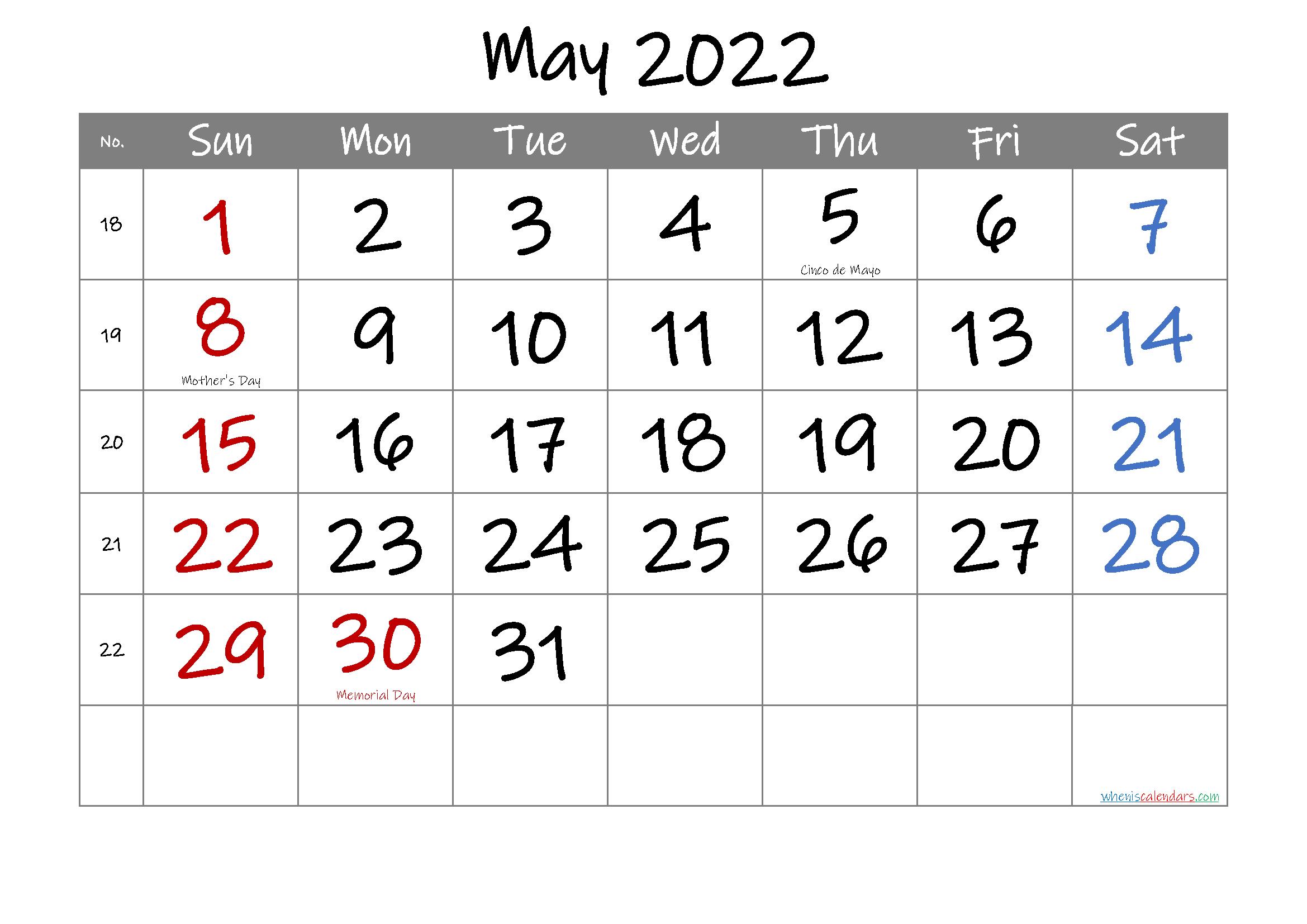 Free Printable FEBRUARY 2022 Calendar with Holidays - 6 ...