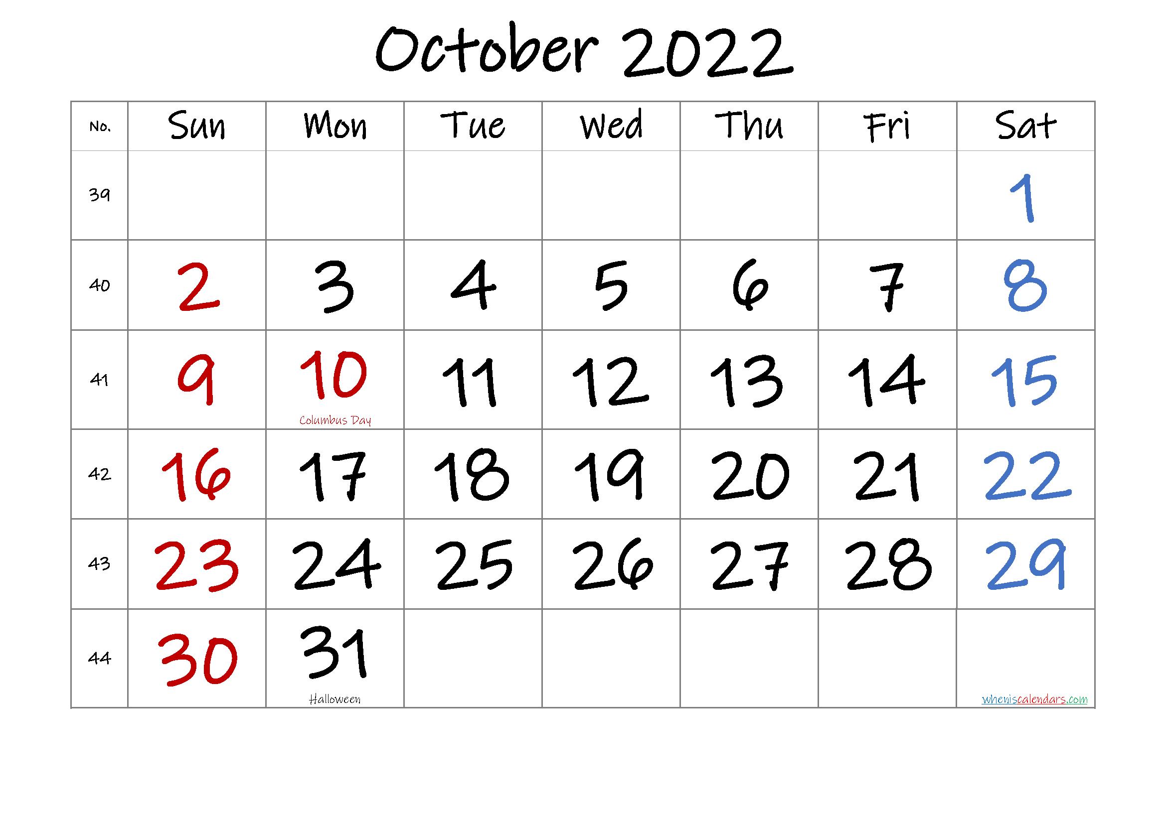 AUGUST 2022 Printable Calendar with Holidays - 6 Templates ...
