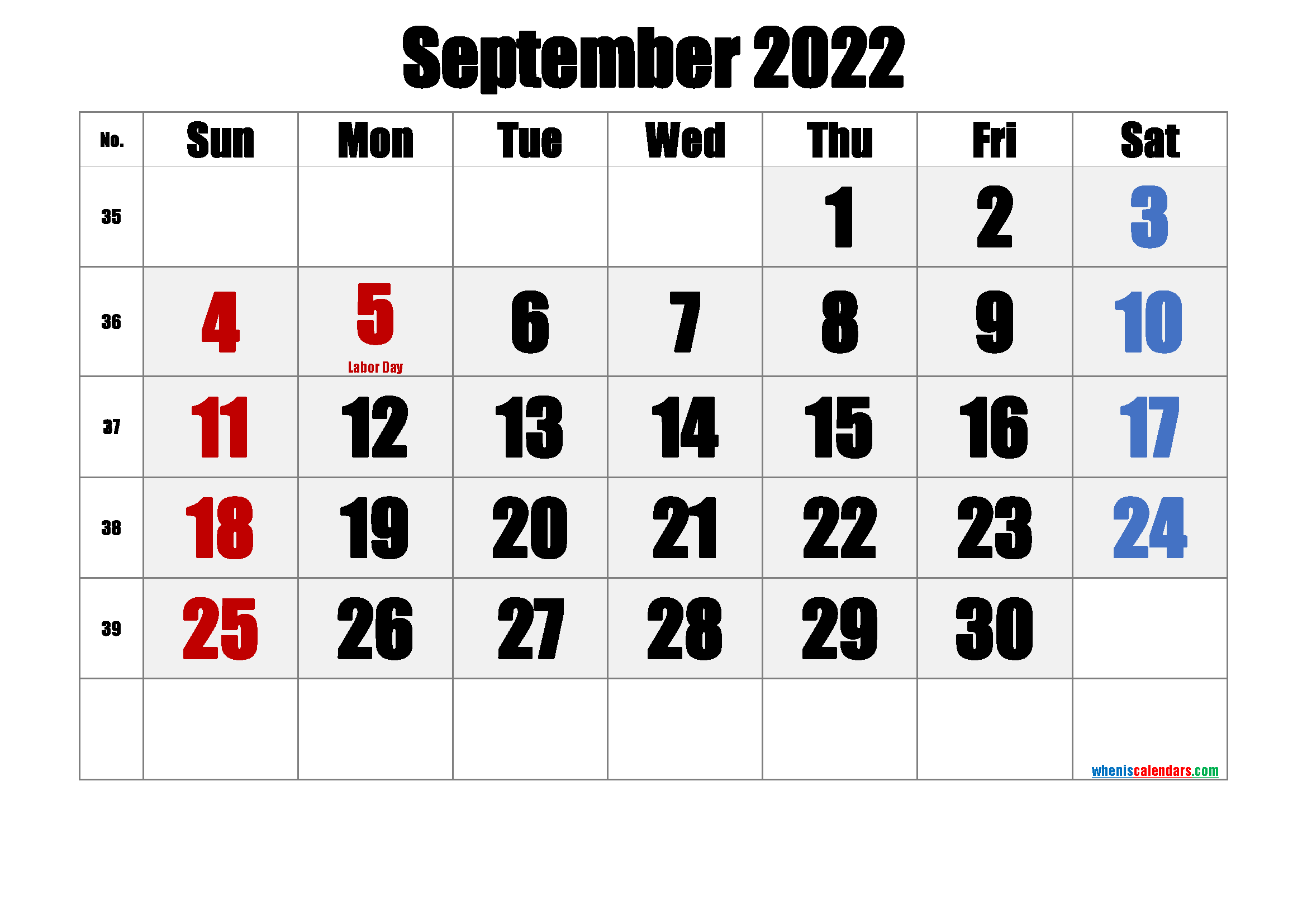 Download printable two months per page calendar for september to october 2022. Free Printable September 2022 Calendar (PDF and PNG)