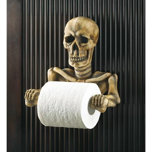 A Halloween Bathroom U2013 Skeleton And Skull Accessories