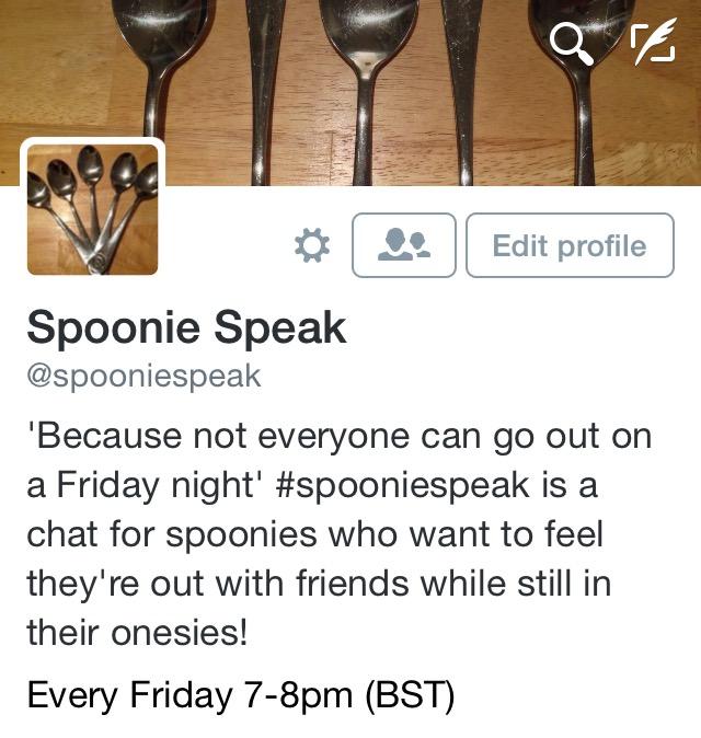 #SpoonieSpeak