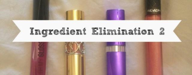 Ingredient Elimination #2
