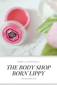 The Body Shop Born Lippy Lip Balm