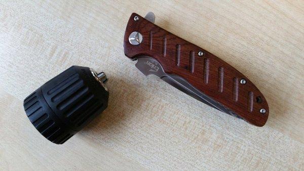 Enlan EL-001 with drill chuck