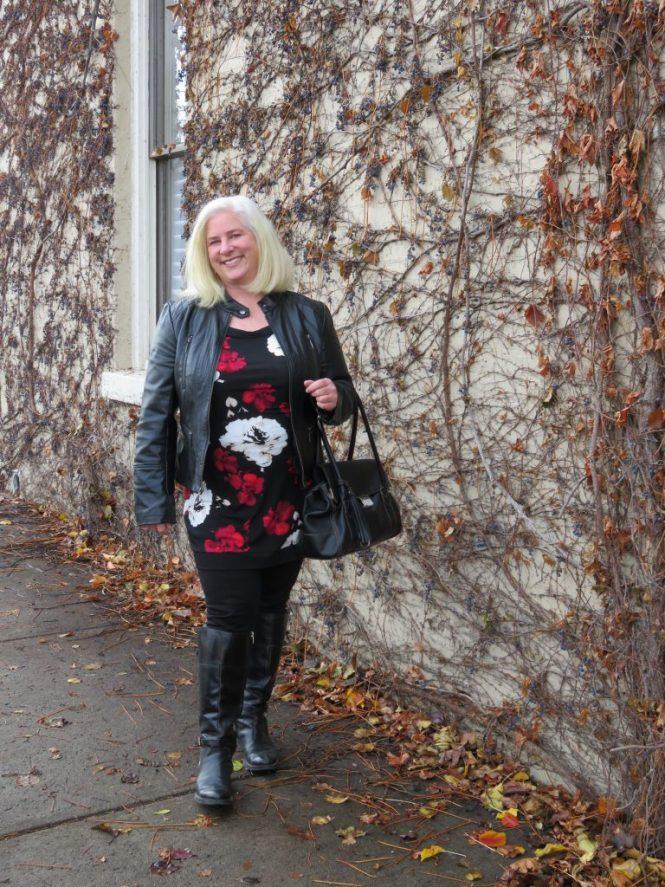 Over 40, plus-size fashion - www.whenthegirlsrule.com