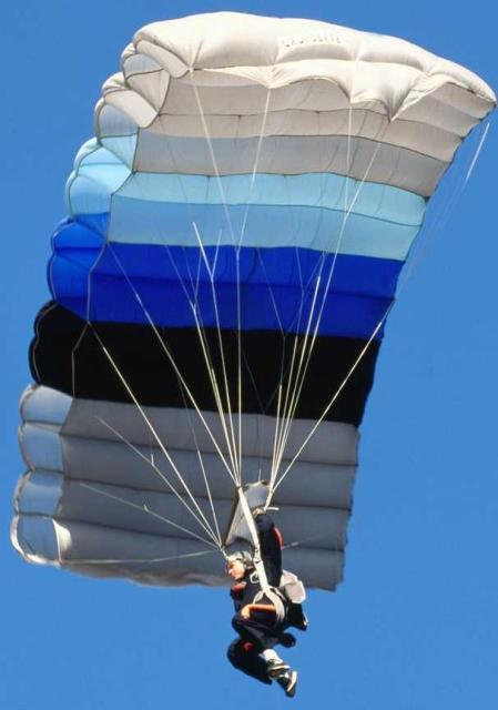 When was the modern Parachute invented  When was it