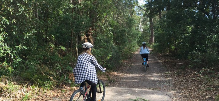 Port Stephens cycling