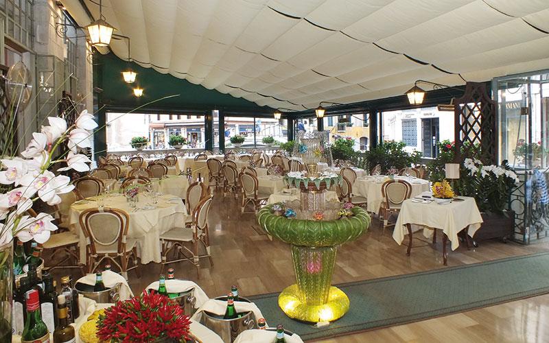 La Terrazza Italian Cuisine in San Marco  Where Venice