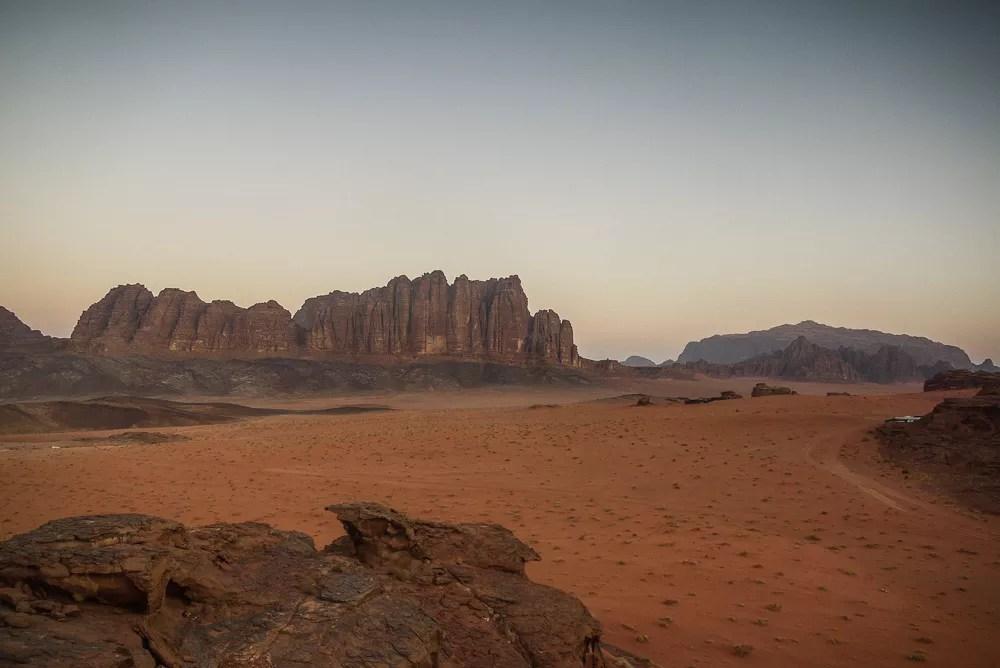 Wadi Rum Life On Mars  Where and Wander