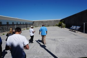 Courtyard Maximum Security Prison Robben Island