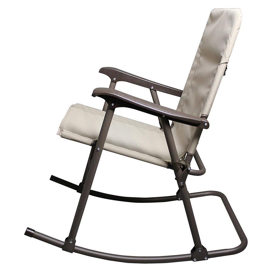 Collapsible Portable Rocking Chair  WhereIBuyItcom