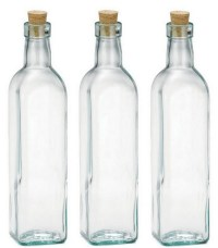 Empty Glass Bottles With Corks  WhereIBuyIt.com