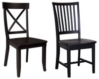 Black wood dining chairs  WhereIBuyIt.com