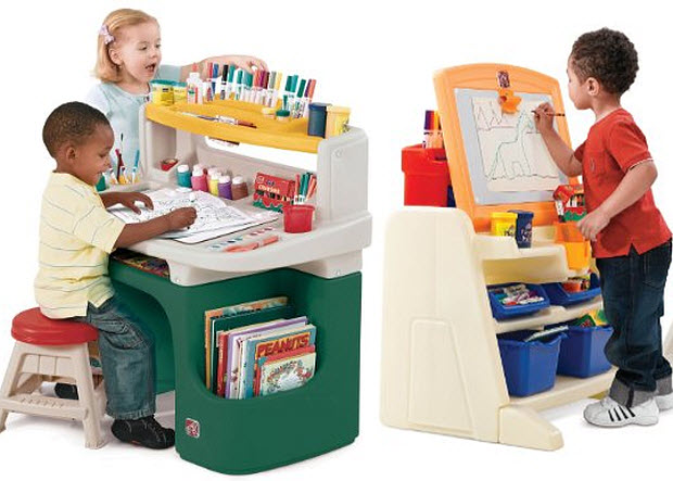 Toddler art desk  WhereIBuyItcom
