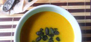 pumpkinsoup 1 300x141 Pumpkin Ginger Soup