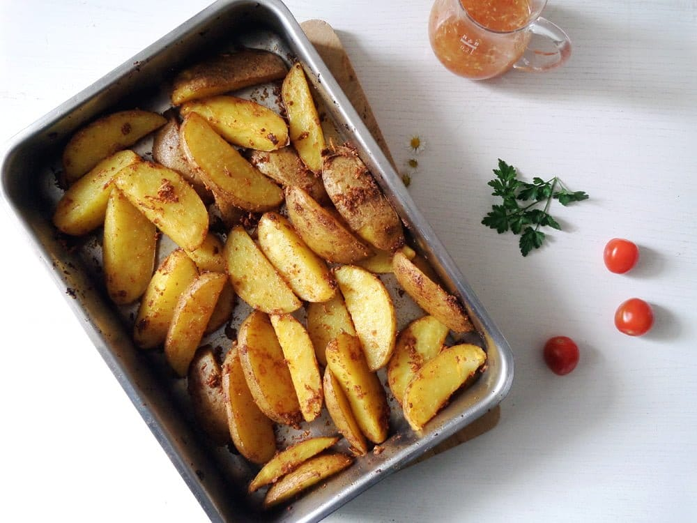 potato wedges sweet chili s Hunter Schnitzel – German Jägerschnitzel