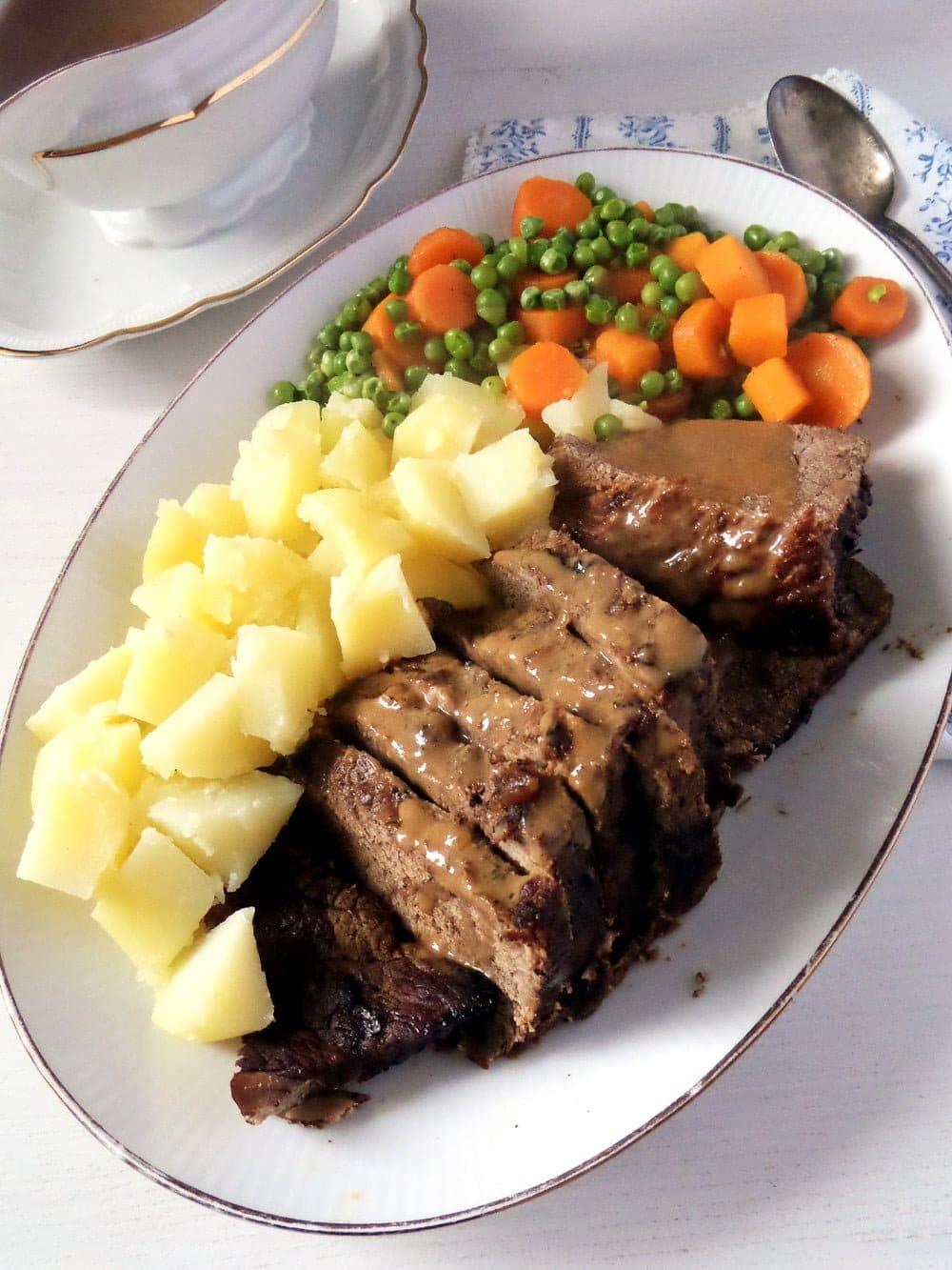 balsamic roast beef Balsamic Roast Beef