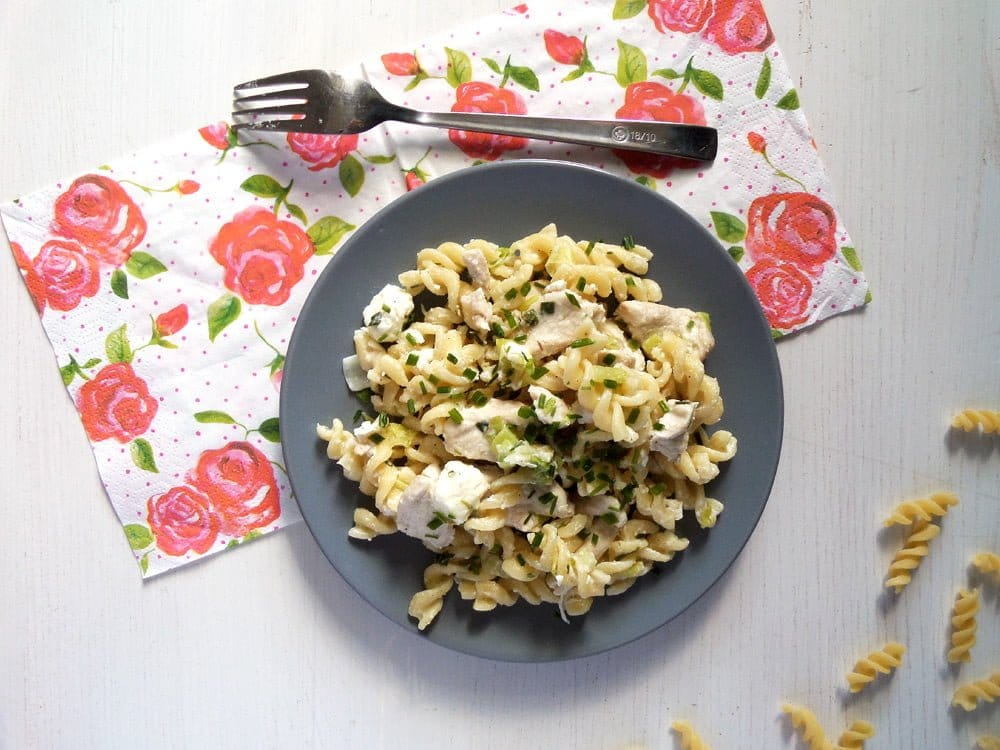 fusili chicken feta Fusilli with Chicken and Feta