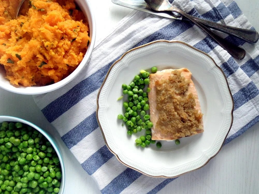 salmon lime Orange Salmon with Dill and Orange Rice
